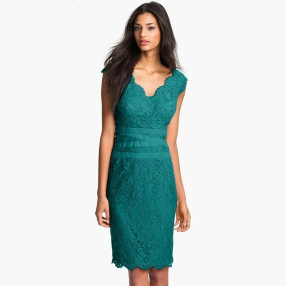 Tadashi Shoji Dresses   Jade Lace Dress   Poshmark